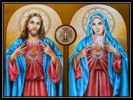The Prayer of the Two Hearts of Love of Jesus & Mary